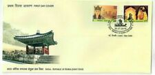 India 2019 South Korea Joint issue Queen Heo Stamps set on FDC