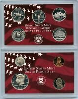 1999 Silver PROOF Coin Set - US Mint - San Francisco - United States