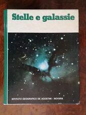 Stelle e Galassie 128 pagine GRANDI TEMI Istituto geografico De Agostini Novara