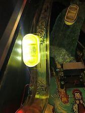 White Water WW Pinball Machine yellow glowing RAFT LED mod (Bally's/Williams)
