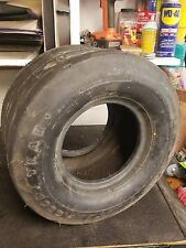 Two (2) Goodyear terra 18-9.50-8 Rib 10 Ply Tire for agricultural implement