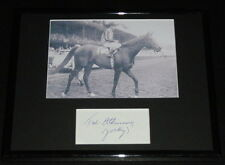 Ted Atkinson Signed Framed 8x10 Photo Display