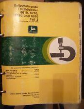 John Deere Häcksler 6610 - 6910 Werkstatthandbuch