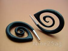 PAIR HORN 00g OVAL SPIRALS W/ SILVER TIP PLUGS PLUG