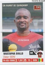 N°110 MUSTAPHA DIALLO # SENEGAL GUINGAMP EAG STICKER FOOT 2014 PANINI