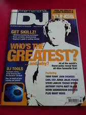 iDJ MAGAZINE WHO'S THE GREATEST March 2001