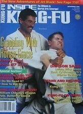 12/95 INSIDE KUNG FU MAGAZINE WILLIAM CHEUNG RORION GRACIE KARATE MARTIAL ARTS