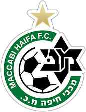 "Maccabi Haifa FC Israel Football Soccer Car Bumper Sticker Decal 4""X5"""