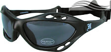Polarised Matte Black Smoke Surf Sunglasses