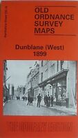 OLD ORDNANCE SURVEY MAP DUNBLANE WEST  PERTHSHIRE SCOTLAND 1899 SHEET 125.15 NEW