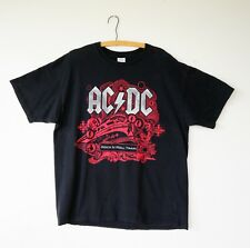 Vintage ACDC Tour T-Shirt XL, ACDC Rock N Roll Train Tour 2008/2009, Band Tee