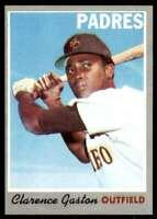 1970 Topps Set Break Nm Mt Semi Hi# Clarence Gaston San Diego Padres #604