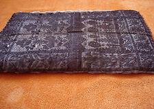 Antike Kissenhülle Hülle Kissen Handbestickt Handarbeit aus Metall Deko RARITÄT