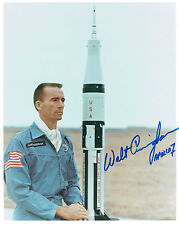Walt CUNNINGHAM Signed Autograph 10x8 Photo COA AFTAL NASA Apollo 7 Astronaut