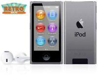 BRAND NEW! Apple iPod nano 7th Generation Space Grey / Black (16GB) (Latest)
