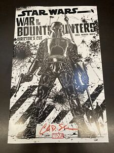 Star Wars War of the Bounty Hunters Alpha Directors #1  Signed By Charles Soule