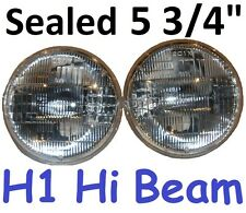 "1pr JTX 5 3/4"" Sealed H1 Hi Beam Inner Headlights Lights 143mm"