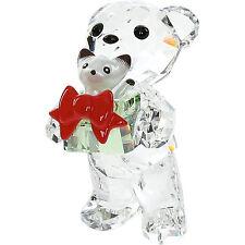 NEW in Box Genuine SWAROVSKI Crystals XMAS KRIS Bear Figurine 5058935 Ornament