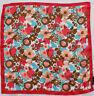NUEVO GUESS Pañuelo para el cuello bufanda chal 100% SEDA 50cm x 50cm (35) #2345