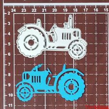 Farm Tractor Cutting die cutters  Metal cutting Dies Cards Scrapbooking