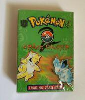 Pokemon 1999 Sealed GRASS CHOPPER Theme Deck Base Set 2