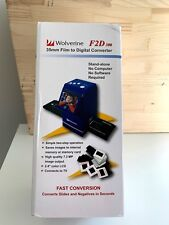 Wolverine F2D 300 35mm Film to Digital Converter/ Scanner ~ New In Box