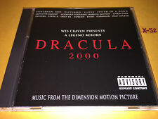 DRACULA 2000 soundtrack CD slayer LINKIN PARK pantera SYSTEM OF DOWN marilyn man