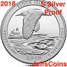 2018 S Block Island National Seashore 90% Silver Proof Park Quarter US.Mint