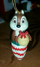 Grolier Disney Collectible Christmas Ornament CHIP DALE RESCUE RANGERS RARE HTF