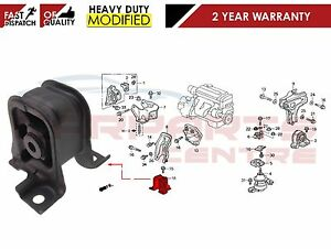FOR HONDA ACCORD MANUAL TRANSMISSION FRONT ENGINE MOUNTING MOUNT 50840-S1A-E00