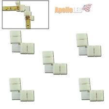 5pcs Right-angle L Easy Connectors For Single Color 3528-SMD LED Strip Light AS2