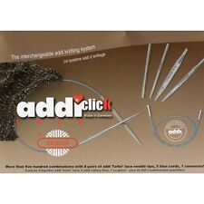 Addi ::Click Rocket Short Tips Interchangeable Circular Knitting Needle System::