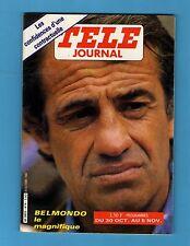 ►TELE JOURNAL N°414 - 1982 - BELMONDO - BARBARA - BEBETES SHOW - FOSSEY