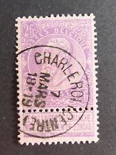 Belgio 1893 2F Mauve con Tablet USATO COME FOTO