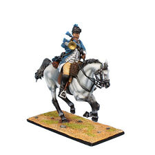 AWI103 US Continental 3rd Light Dragoons Trumpeter by First Legion