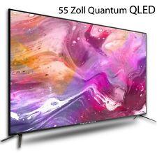 QLED Quantum Fernseher 55 Zoll UHD LED Neuware✔DVB-T2-C-S2 Tristan Auron