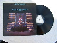 GARY NUMAN LP LIVING ORNAMENTS '70 ...... 33rpm / rock