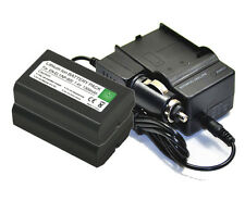 new 2 piece Battery and Charger EN-EL1 for Coolpix 4300 4500 4800 5000 5400 5700