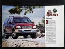 1997 Ford Expedition - 5 Page Original Article