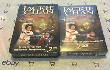 Jackie Chan 4 Films DVD New! + Tin Young Tiger | Fire Dragon | Eagle Shadow Fist