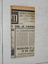 FRANCE FOOTBALL OFFICIEL HEBDOMADAIRE FFF N°403 08/12 1953