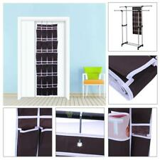 24 Pocket Over Door Hanging Shoes Organizer Rack Hanger Space Saver Storage Bags