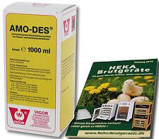 Amo-DES, 1000ml-potente disinfettante --- @ @ @heka: 1x art.23180
