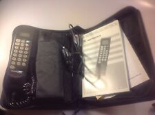 Vintage Motorola Cellular One Car Phone SCN2555A W/ Case & Manual, Made in USA