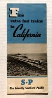 1947 Southern Pacific Railroad Travel Brochure for California