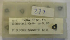 10 Turning Plates Inserts hm-pl GR04 s-einst A=0,90 K10 tialnf Mimatic T870