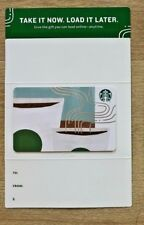 New! Starbucks 2018 Take It Now Load It Later Coffee Cups gift card
