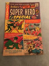 ARCHIE's SUPER-HERO SPECIAL KEY AWESOME COMIC LOWER GRADE SEE THE PICS'