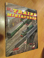 livre 1981 histoire illustrée des trains miniatures whitehouse levy princesse