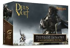 TEUTONIC INFANTRY - DEUS VULT - FIREFORGE GAMES - 28MM